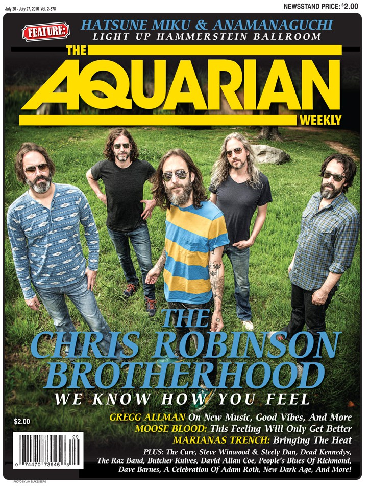 July 20, 2016 - The Chris Robinson Brotherhood