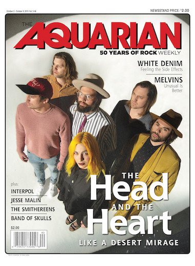 October 2, 2019 — The Head and the Heart