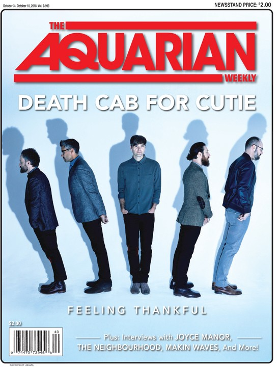 October 3, 2018 - Death Cab For Cutie