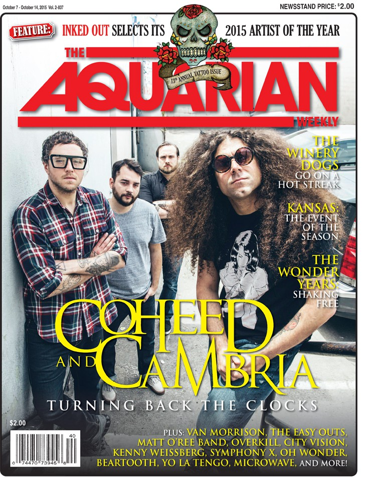 October 7, 2015 - Coheed And Cambria / Annual Tattoo Issue