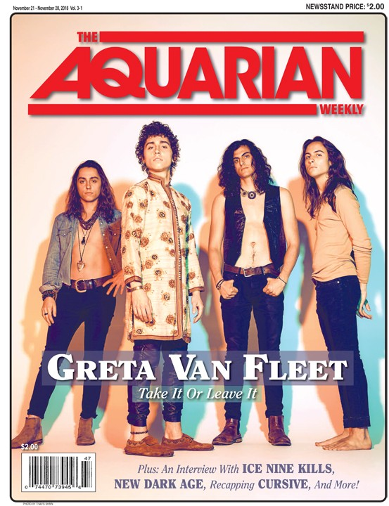 November 21, 2018 - Greta Van Fleet