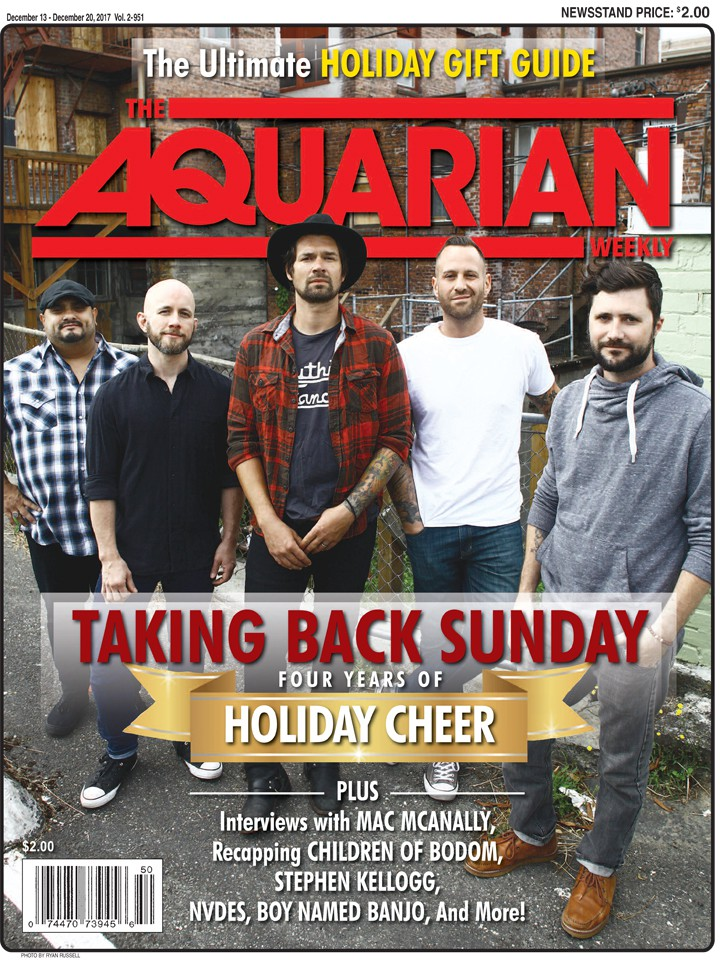 December 13, 2017 - Taking Back Sunday
