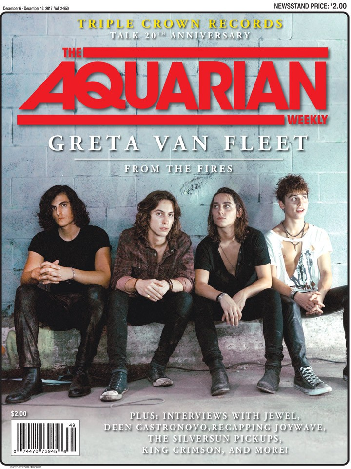 December 6, 2017 - Greta Van Fleet
