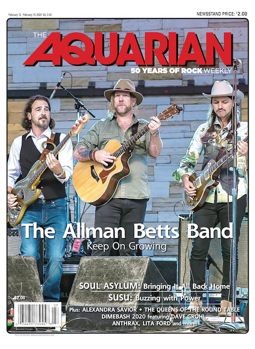 February 12, 2020 — The Allman Betts Band