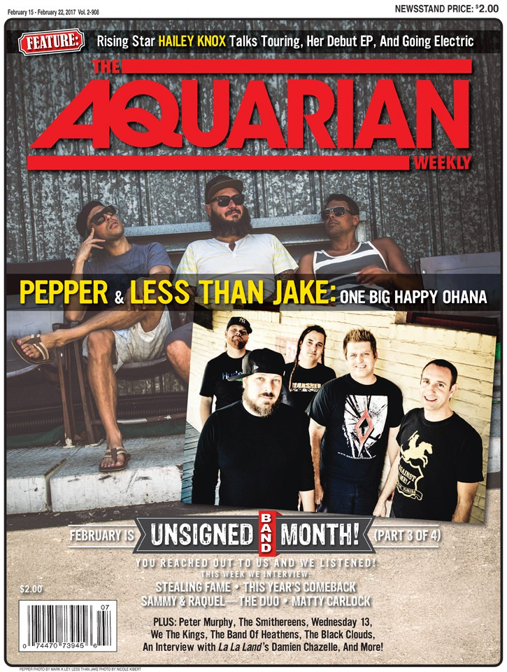 February 15, 2017 - Pepper & Less Than Jake / Unsigned Band Month Part 3 Of 4