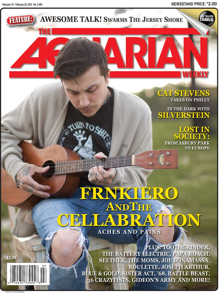 February 18. 2015 - Frnkiero AndThe Cellabration