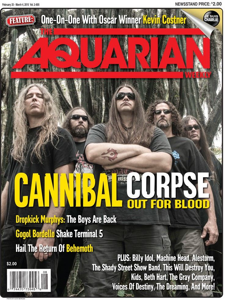 February 25, 2015 - Cannibal Corpse