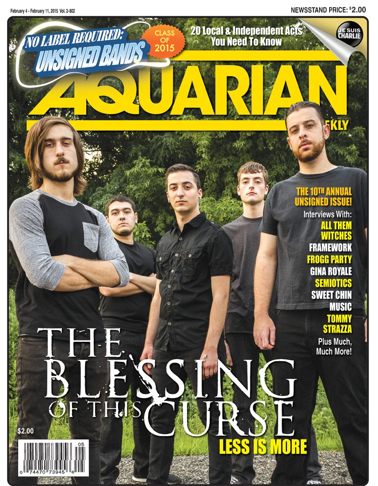 February 4. 2015 - The Blessing Of This Curse / Unsigned Band Issue