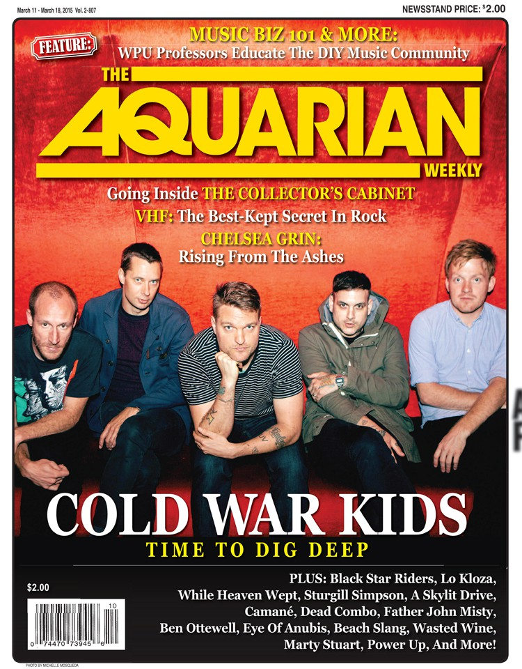 March 11, 2015 - Cold War Kids