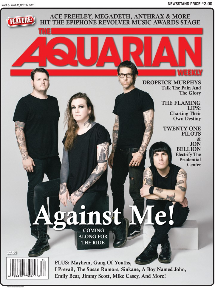 March 8, 2017 - Against Me!