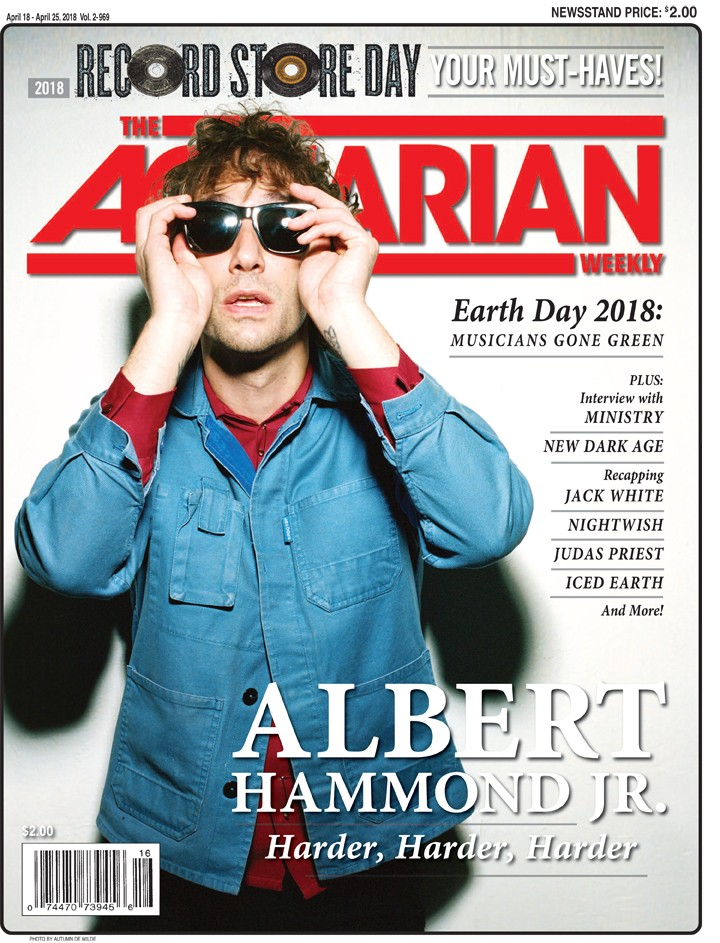 April 18, 2018 - Albert Hammond Jr.