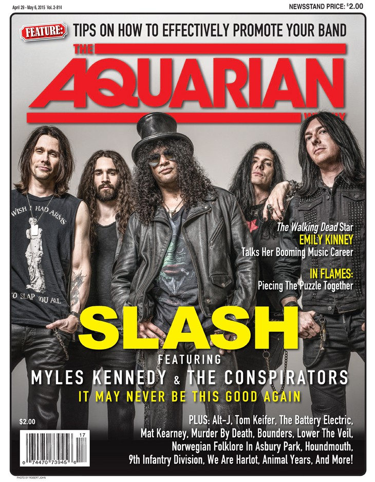 April 29, 2015 - Slash Featuring Myles Kennedy And The Conspirators
