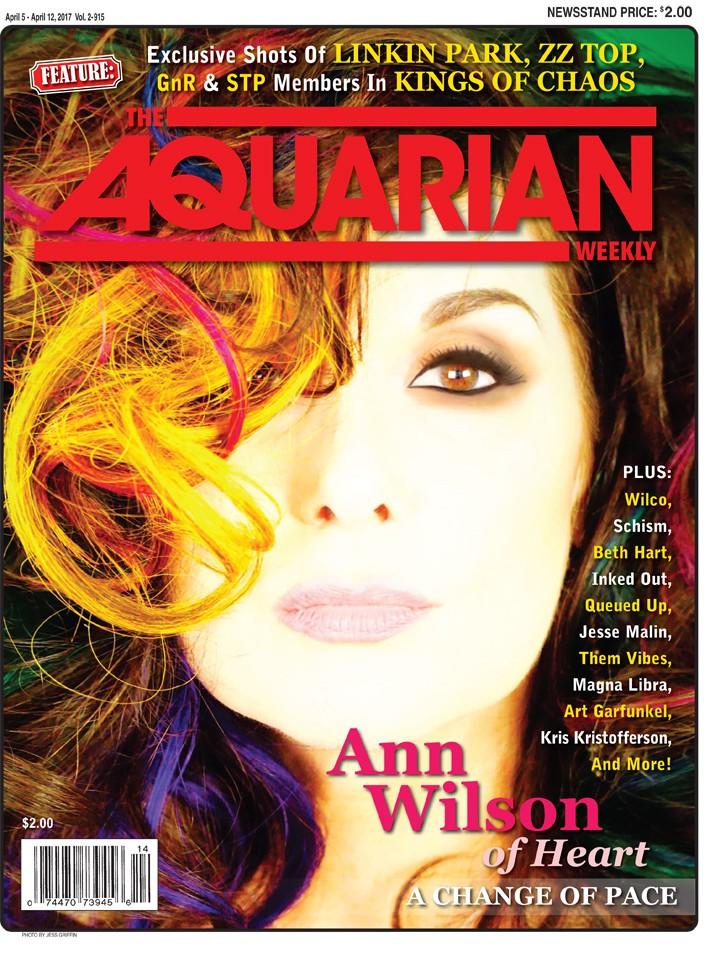 April 5, 2017 - Ann Wilson of Heart