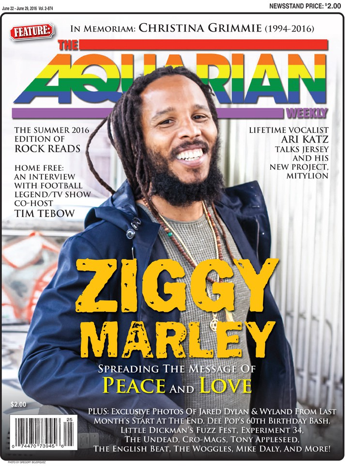 June 22, 2016 - Ziggy Marley