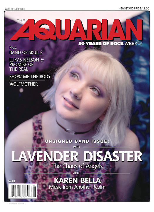July 10, 2019 — Lavender Disaster & Karen Bella