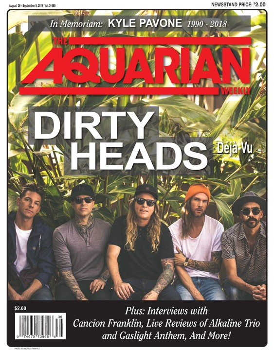 August 29, 2018 - Dirty Heads