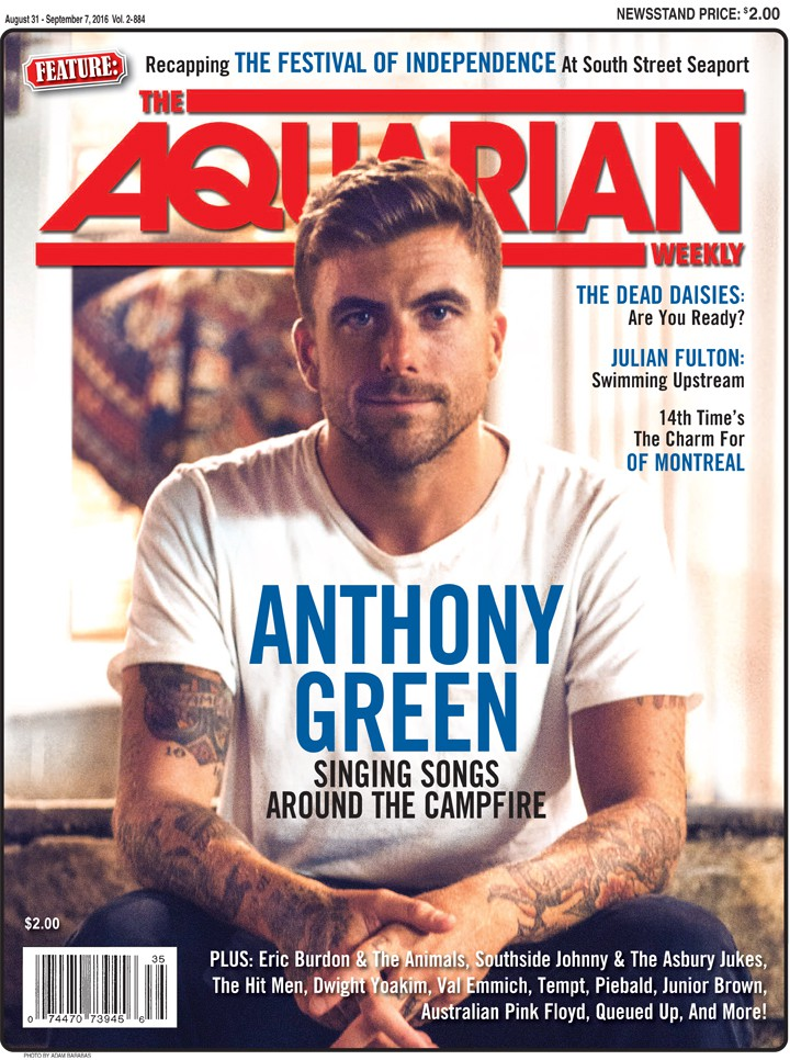 August 31, 2016 - Anthony Green