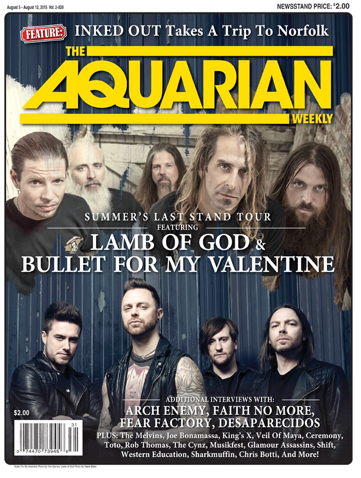 August 5, 2015 - Bullet For My Valentine / Lamb Of God