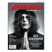 December 25, 2019 — Jaz Coleman of Killing Joke