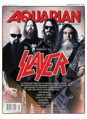 November 6, 2019 — A Tribute to Slayer