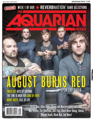 March 4, 2015 - August Burns Red