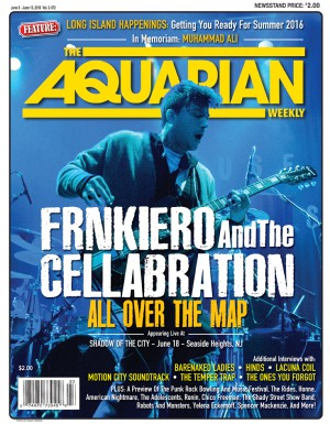 June 8, 2016 - Frnkiero AndThe Cellabration
