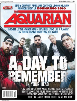 August 10, 2016 - A Day To Remember