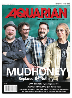 September 25, 2019 — Mudhoney